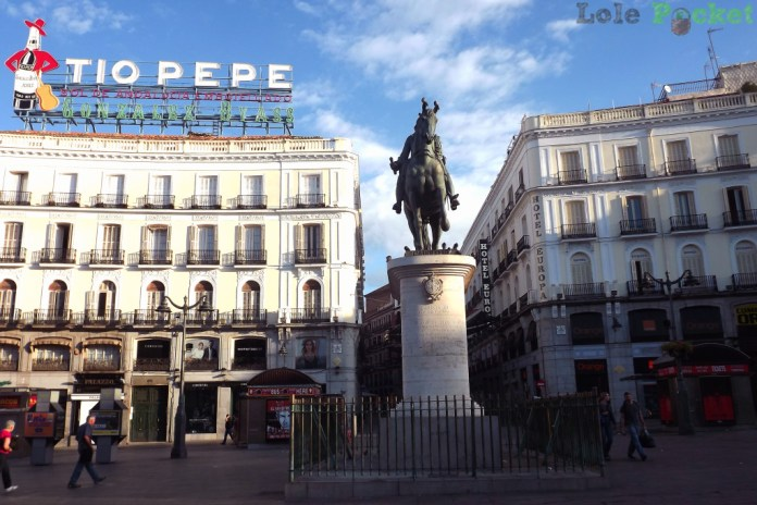 Puerta del Sol - Madri