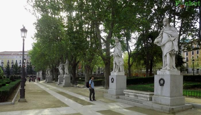 Plaza de Oriente - Madrid