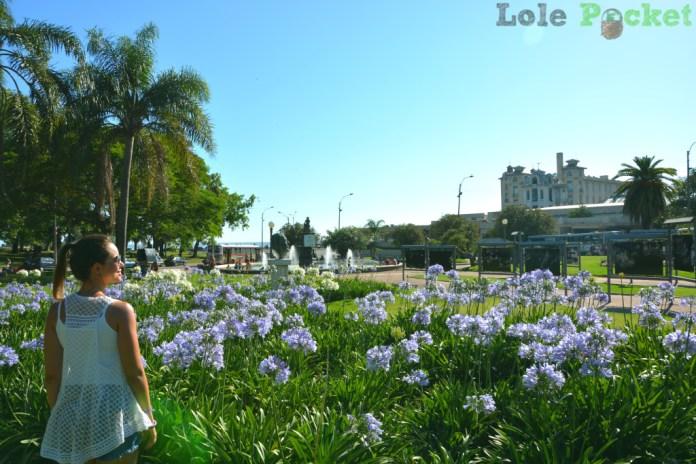 Parque Rodó, de frente para a Playa Ramirez - Montevidéu