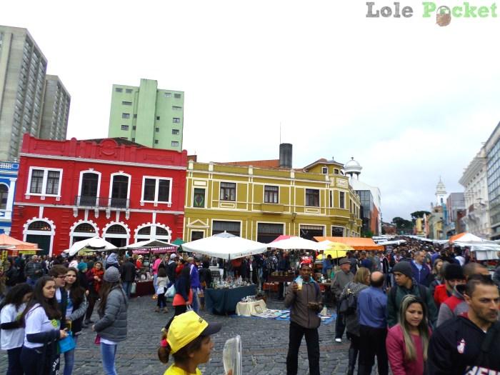 Feirinha do Largo da Ordem - Setor Histórico - Curitiba
