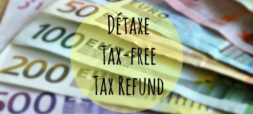 Détaxe, tax free, tax refund: como ter o reembolso dos impostos nas compras pela Europa