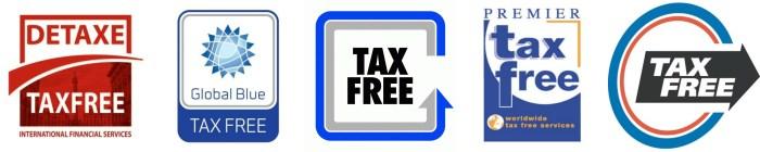 Símbolos de Tax Free