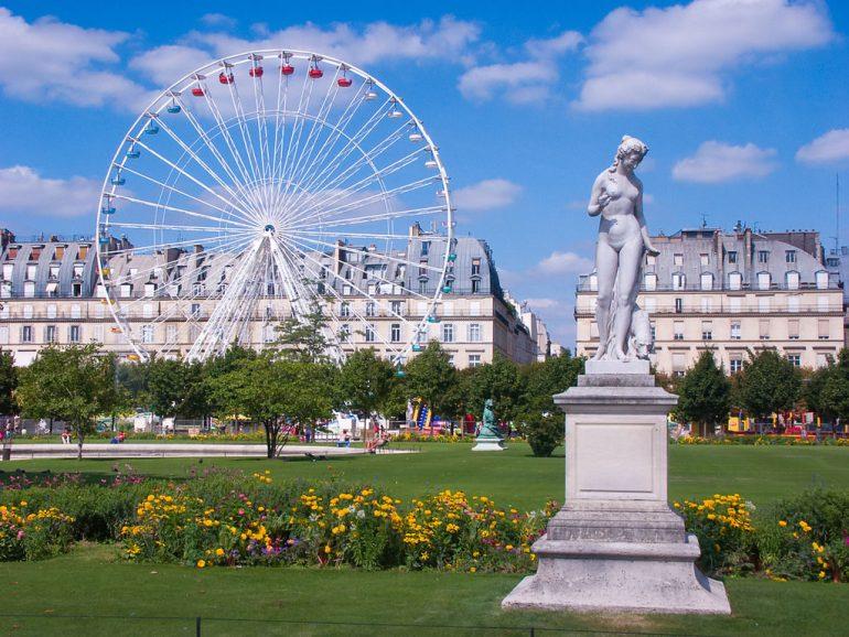 O que fazer em Paris de graça - Jardin des Tuileries - Paris - Wikipedia