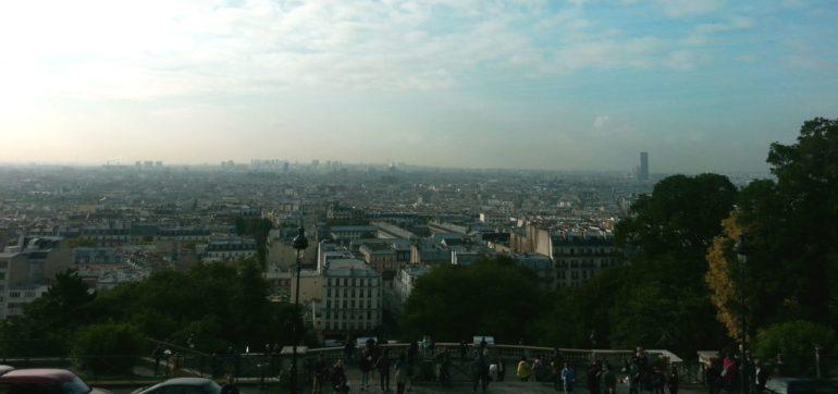 O que fazer em Paris de graça - Vista - Sacré Coeur