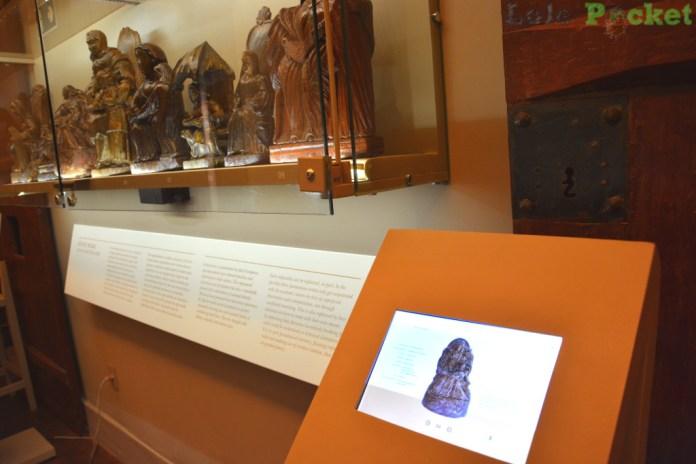 Painel Interativo - Museu de Sant'Ana - Tiradentes