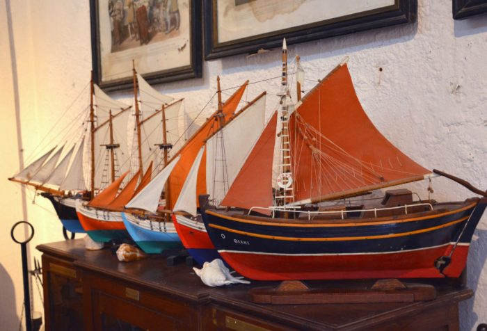 Modelo de Barcos - Museu Folclórico - Mykonos
