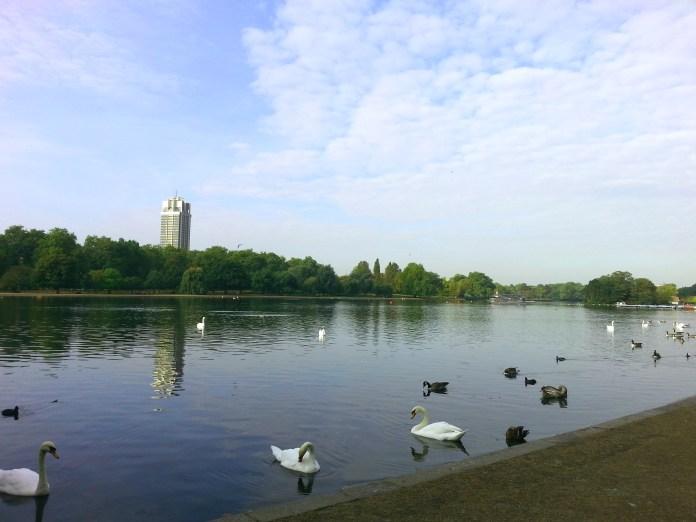 Lago Serpentine - Hyde Park - Londres