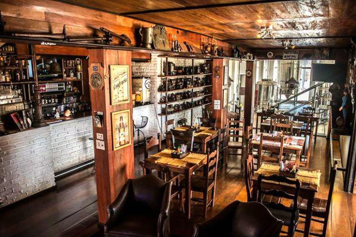 Interior do Boteco Tiradentes