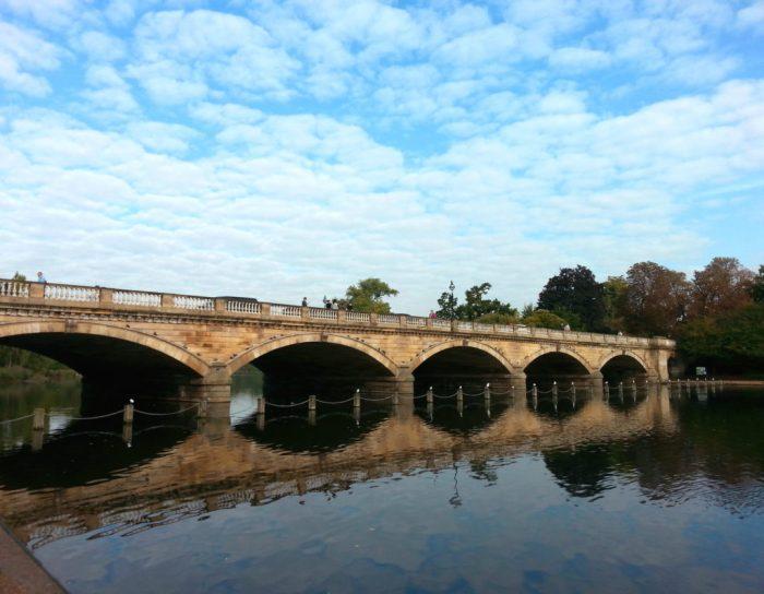 ponte Serpentine - Hyde Park - Londres