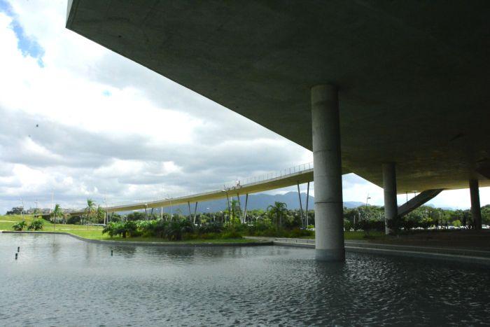 Espelho d'água da Cidade das Artes - Barra da Tijuca