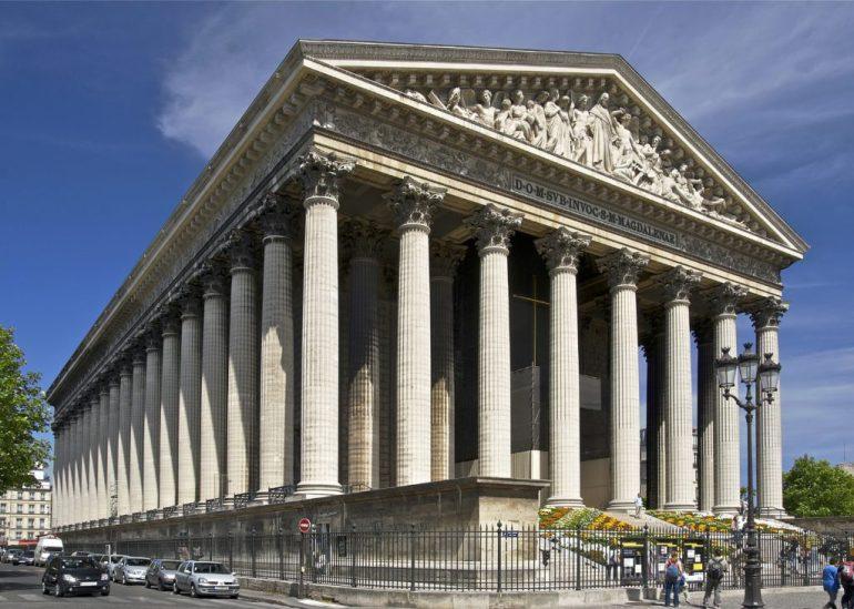 O que fazer em Paris de graça - Église de la Madeleine