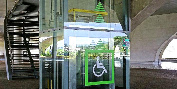 Acessibilidade - Cidade das Artes - Barra da Tijuca