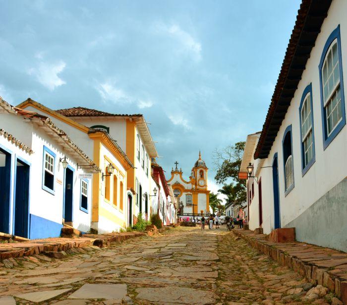 Rua da Igreja Matriz de São José - Tiradentes
