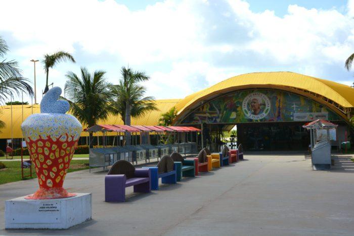 Centro de Arte e Cultura José Inácio - Orla da Altalaia - Viagem para Aracaju