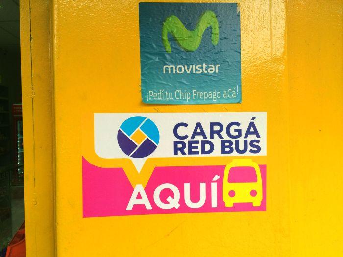 Quiosque de Recarga de Red Bus - Mendoza