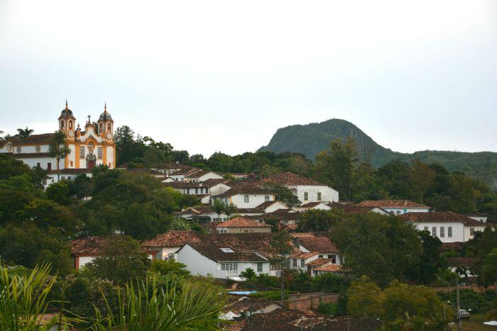 Vista do Centro histórico de Tiradentes