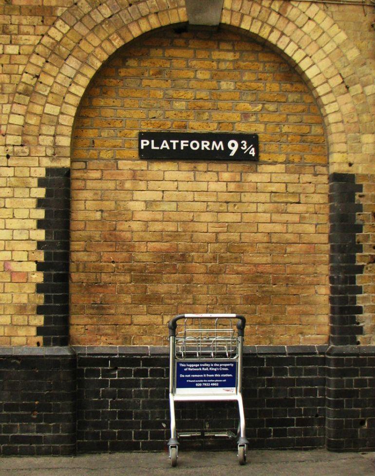 Platform Kings Cross - O que fazer em Londres
