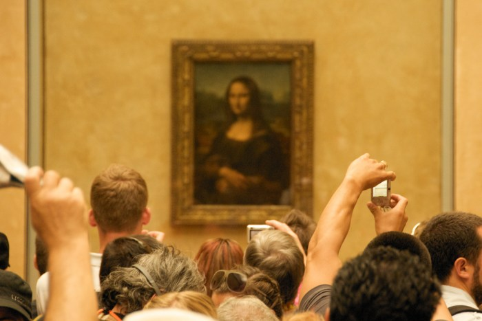 monalisa - Museu do Louvre de graça