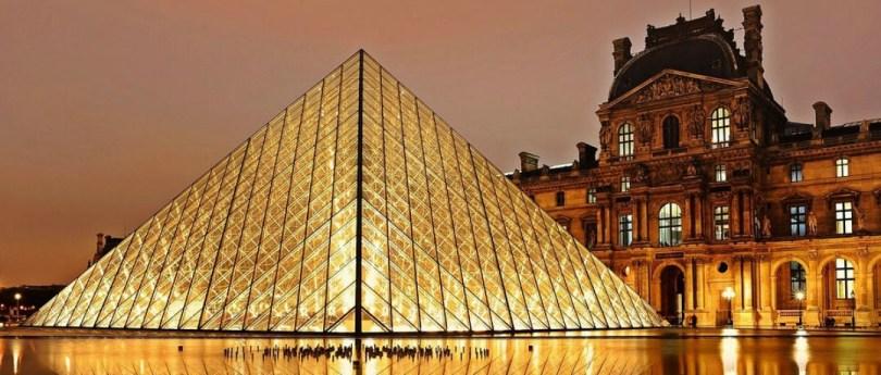 Para você visitar o Museu do Louvre de graça!