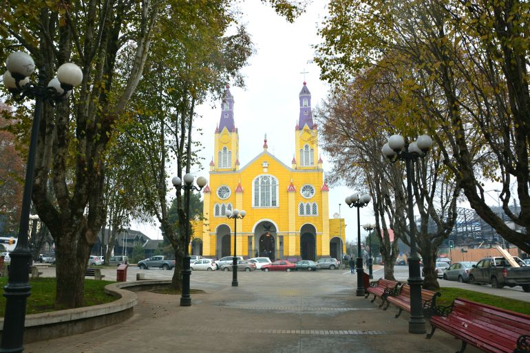 Chiloé - Iglesia de Castro