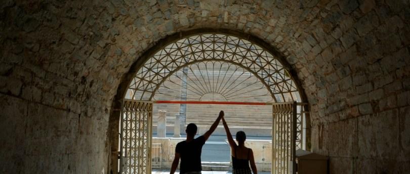 Uma emoção que só a Grécia dá: a visita ao Estádio Panatenáico