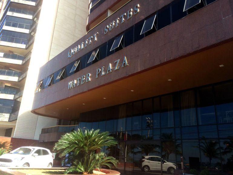 Hotel em Vila Velha - Fachada Quality Suites