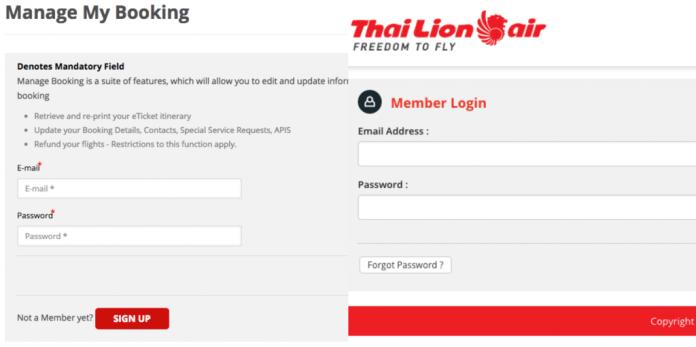 Passagem Low Cost Tailândia - Gerenciamento de Reservas 2