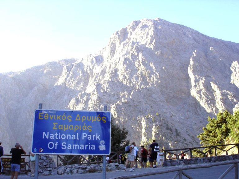 Creta - Parque Nacional Garganta de Samaria