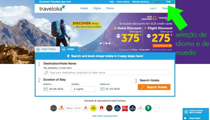 Vôo Low Cost na Tailândia - Traveloka