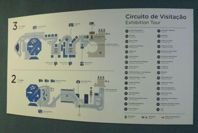 AquaRio - Circuito de Visitação