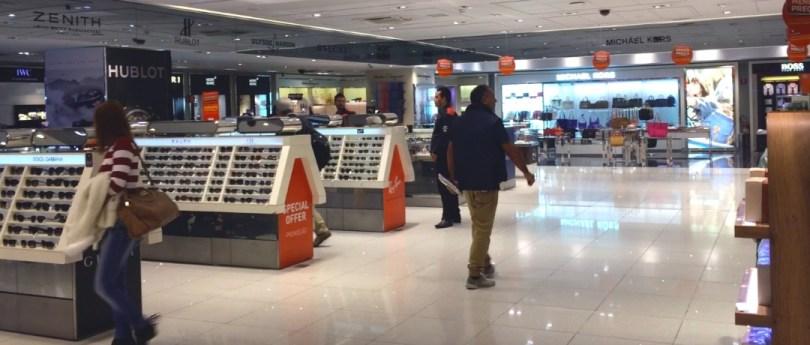 Free Shop   Como funcionam as trocas de compras no Dufry?