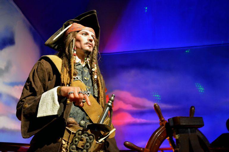 Museu de Cera Gramado - Jack Sparrow
