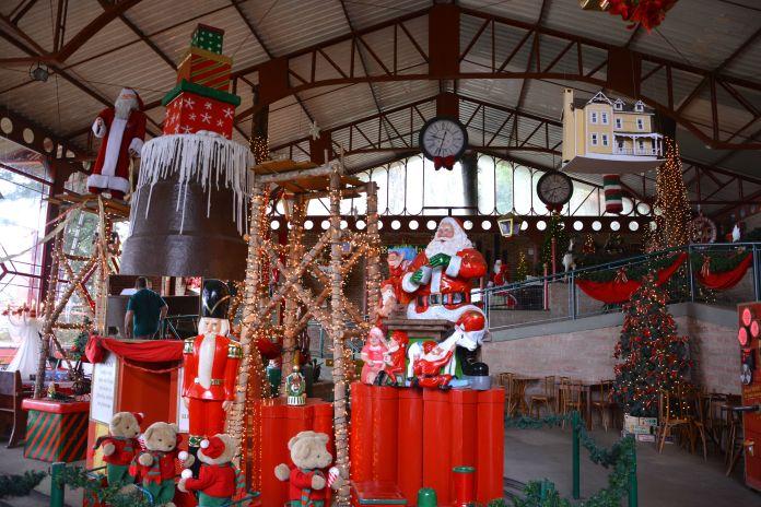 Aldeia do Papai Noel - Fábrica