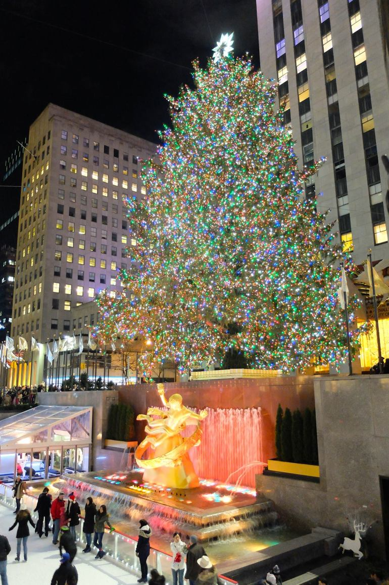 Nova York no Natal - Rockefeller Tree
