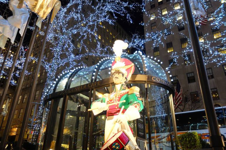 Nova York no Natal - cidade ornamentada