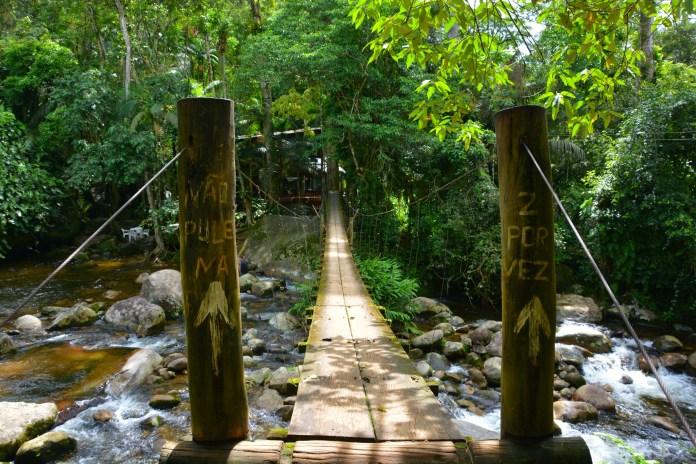 O que fazer em Paraty - Cachoeira do Tarzan
