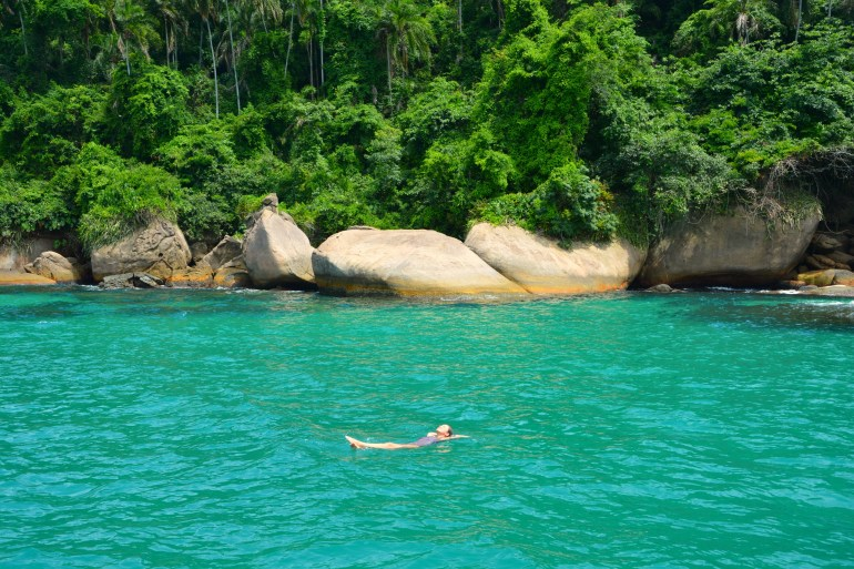 O que fazer em Paraty - Lagoa Azul