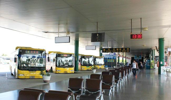 Aeroporto de Bangkok - Ônibus