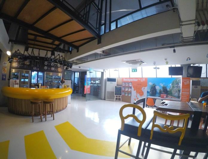 Onde ficar em Bangkok - Lobby