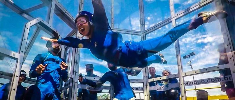 Túnel de Vento Wind Up | Tudo sobre o skydiving queridinho de São Paulo