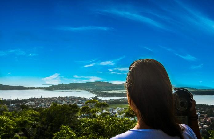 Leste de Florianópolis - Mirante do Morro da Lagoa
