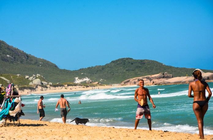 Leste de Florianópolis - Praia Mole