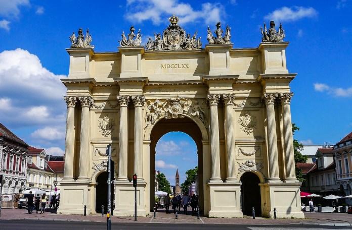 Reveillón na Europa - Portão de Brandenburgo