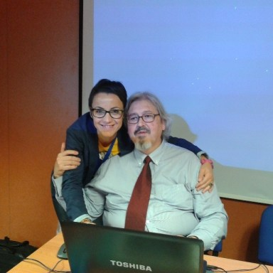 Con esteban Rodrigo
