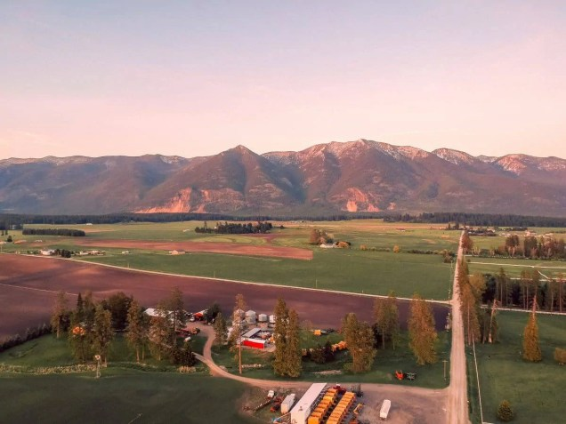 Best Travel Drone - DJI Spark - Montana