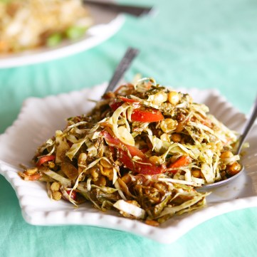 Tea leaf salad - Shwe Kyar Pwint
