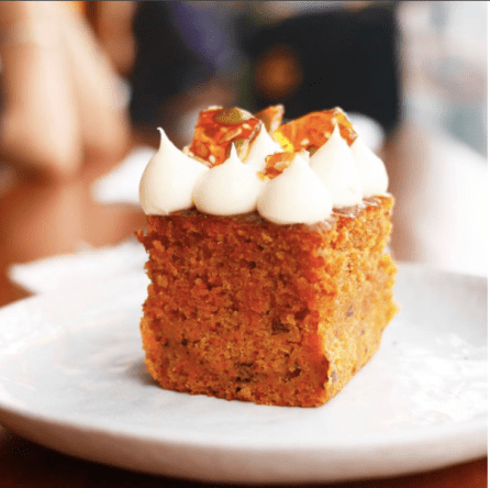Best Carrot Cake from Brave Roasters