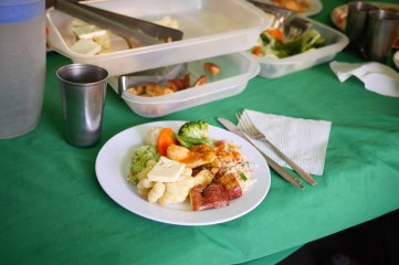 Lunch prepared by Alpaca Expeditions