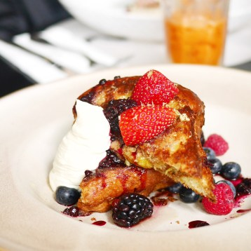 PS Cafe - Brioche French Toast
