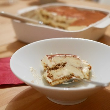 Slice of Homemade Tiramisu